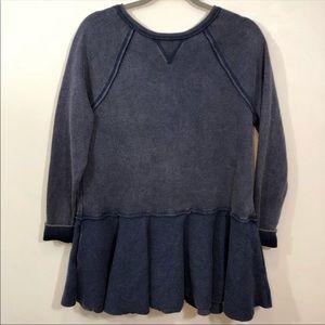 NWOT Free People Like That Tunic Sweatshirt Dress